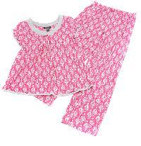 Rene Rofe Geometric Print 2pc. Pajama Set L, Pink