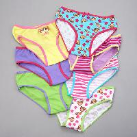 Girls (4-6x) Sweet Princess Monkey/Stripe Panties 4, Pink Multi