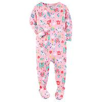 Baby Girl(12-24M) Carter's Princess Footed Sleeper 12 Months, Pink