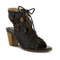 L'Artiste Alejandra Platform Sandals  Black 35, Black