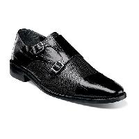 Stacy Adams Gardello Cap Toe Loafers  Black 10 M, Black