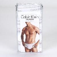 Calvin Klein 4pk. Cotton Briefs M, Blue Depth