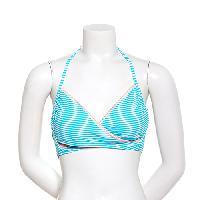Juniors Hot Water Salt Sea Bralette Swim Top-Green L, Green