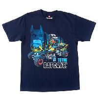 Boys (8-20) LEGO(R)  Batman(tm) To The Batcave Tee L, Navy