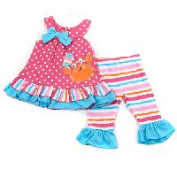 Baby Girl (12-24M) Watch Me Grow Crab Leggings Set 12 Months, Pink