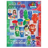 Cra-Z-Art(tm) PJ Masks 3D Mold 'n Play Figurine