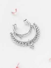 Silver Delicate Nose Ring