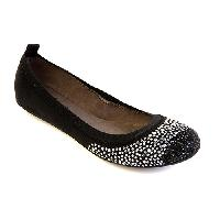 Unlisted Whole Sparkle Ballet Flats 6 M, Black