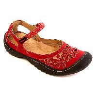 J Sport Peony Flats - Red 6.5 M, Red