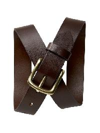 Gap Leather Belt - Brown