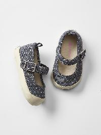 Gap Polka Dot Mary Jane Sneakers - Chambray dot