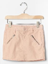 Gap Corduroy Zip Skirt - Wispy pink