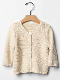 Gap Organic Cardigan - French vanilla