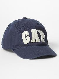 Gap Logo Baseball Hat - Vintage navy