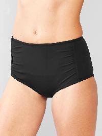 Gap High Waist Bikini - True black