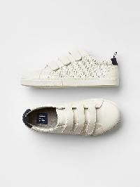 Gap Perforated Classic Trainers. - White