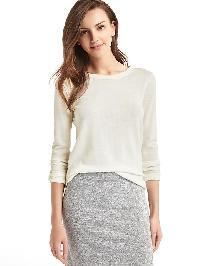 Gap Merino Wool Sweater - Cream