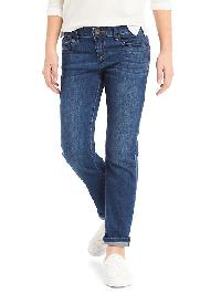 Gap 1969 Stretch Straight Jeans - Dark wash