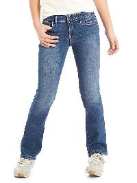 Gap 1969 High Stretch Boot Jeans - Medium wash