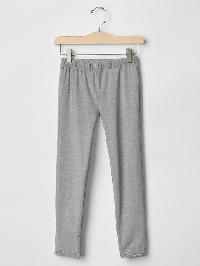 Gap Lace Trim Leggings - Grey