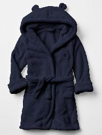 Gap Fleece Bear Robe - Dark night