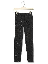 Gap Sparkle Leggings - True black