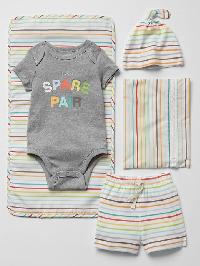 Gap Spare Pair Changing Set - Multi stripe
