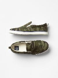 Gap Camo Slip On Sneakers - Camo print