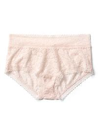Gap Soft Lace Shorty - Light pink