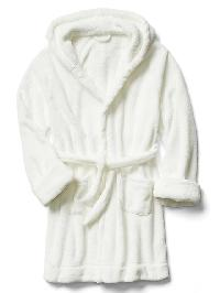 Gap Fleece Sleep Robe - New off white