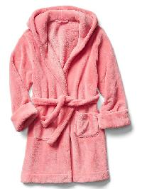 Gap Fleece Sleep Robe - Coral frost