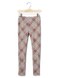 Gap Printed Coziest Leggings - Medium gray