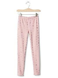 Gap Printed Coziest Leggings - Pink standard