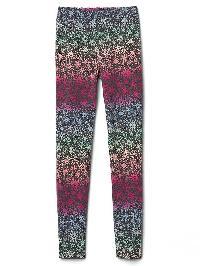 Gap Printed Coziest Leggings - Heather grey