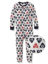 Gap Heartbreaker Sleep One Piece - Blue uniform