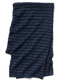 Gap Soft Skinny Scarf - Blue stripe