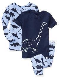 Gap Dino Pal Sleep Set (3 Pack) - Heather blue