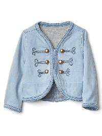 Gap 1969 Denim Band Jacket - Light wash