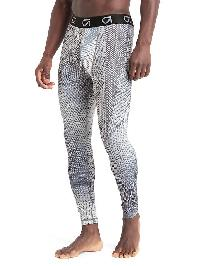 Gap Compression Base Layer Tights - White print