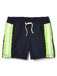 Gap Side Stripe Swim Trunks - Blue uniform