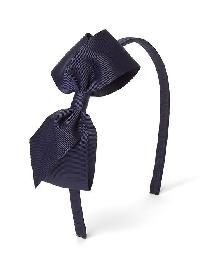 Gap Big Bow Headband - Blue galaxy