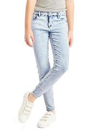 Gap 1969 High Stretch Super Skinny Jeans - Light denim
