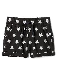 Gap Rolled Terry Shorts - True black