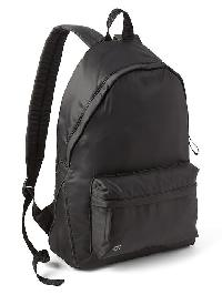 Gap Nylon Backpack - True black