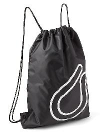 Gap Fit Drawstring Bag - True black