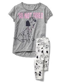 Gapkids &#124 Disney Short Sleeve Pj Set - Heather gray