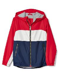 Gap Americana Jersey Lined Windbuster - Pure red