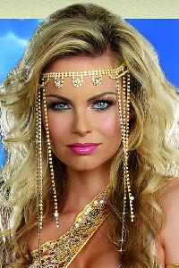 Shimmer Rhinestone Headpiece Costume Accessories