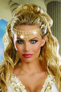 Glittering Rhinestone Headpiece Costume Accessories