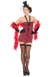 3 Pc. Saloon Seductress Sexy Costume